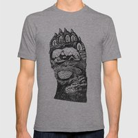 Bear Paw Mens Fitted Tee Athletic Grey SMALL