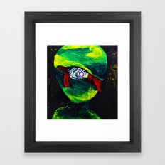 Bloody Cyclops Framed Art Print