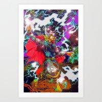 Thor Art Print
