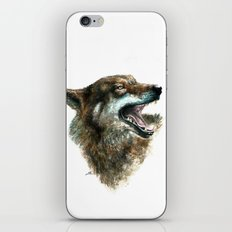 Wolf smile iPhone & iPod Skin
