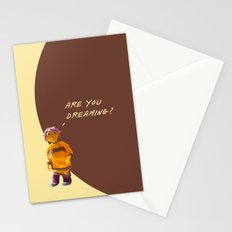 are you dreaming? Stationery Cards