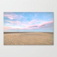 Sparse Beach Canvas Print
