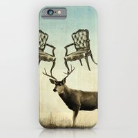 iPhone & iPod Case featuring louis xv stag chairs by vin zzep