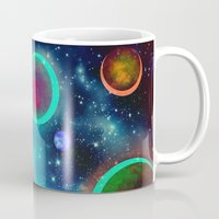 Festive Planets Mug