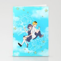 Maybe We Can Be Friends Stationery Cards