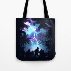 Stormy Night Tote Bag