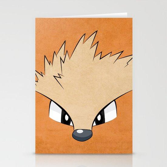 Arcanine - Pokemon 1st Generation Stationery Card