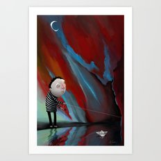 The Decision Art Print
