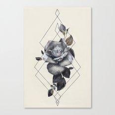 Geo Rose II Canvas Print