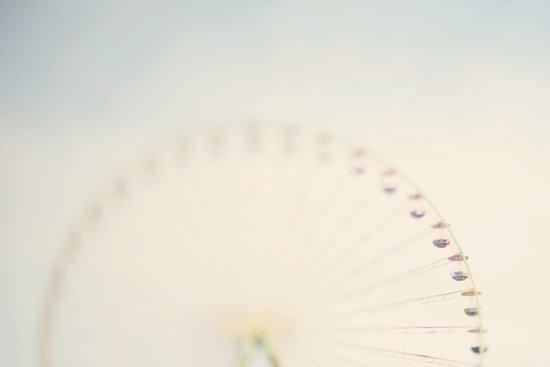 its all a blur ... Art Print