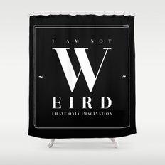 Weird Shower Curtain
