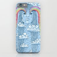 iPhone & iPod Case featuring Rainface by Peter Kramar