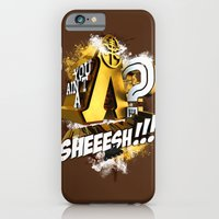 iPhone & iPod Case featuring You Ain't A Lambda? SHEEESH!!! by Halucinated Design
