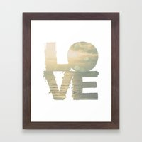 This Love Is Ours Framed Art Print