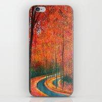 Beautiful Colors Of Autu… iPhone & iPod Skin