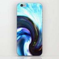 Blurry Colour Spiral iPhone & iPod Skin