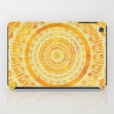 Golden Sun Mandala iPad Case