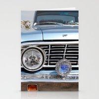 Sweet Vintage Car Stationery Cards