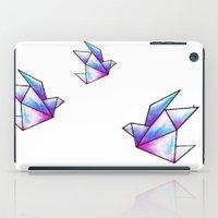 Origami Pastels iPad Case