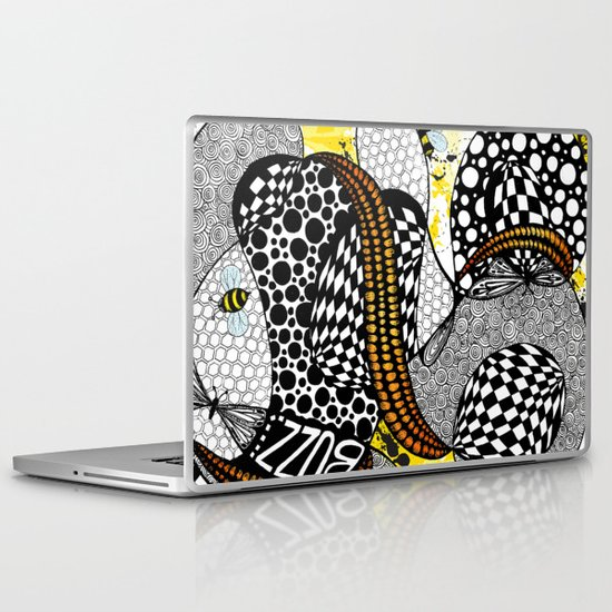 Buzzzz.....  Laptop & iPad Skin