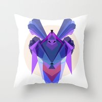Samuradiator Throw Pillow