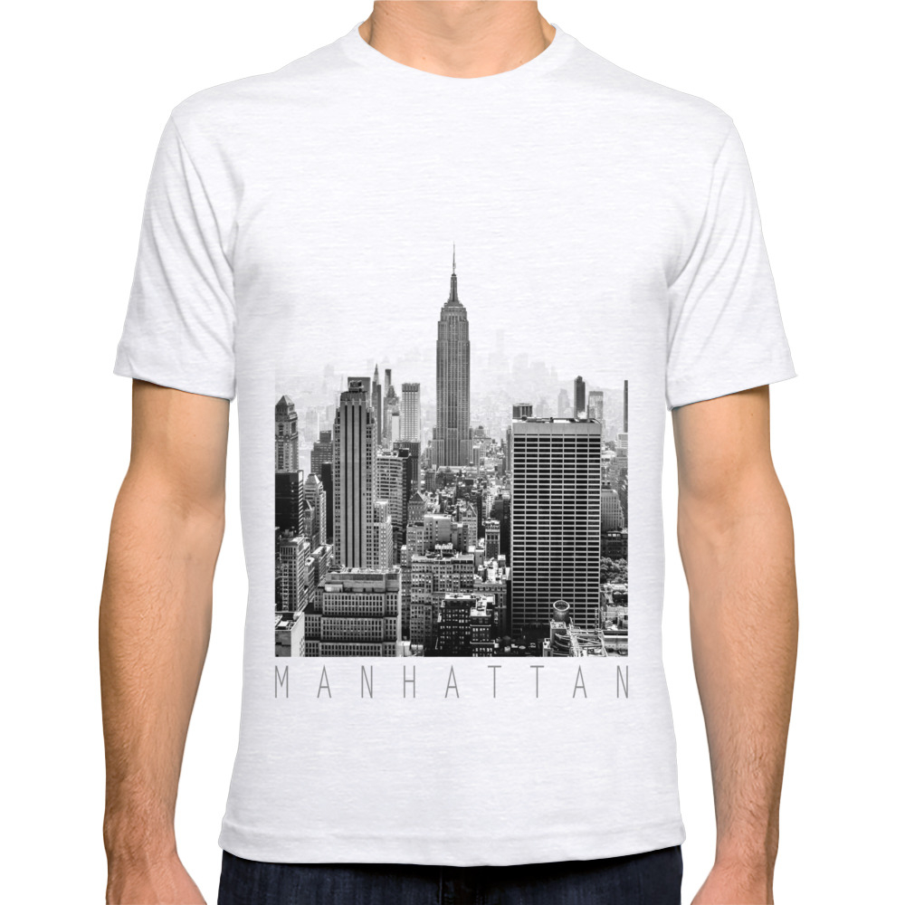 Society6 Men 39 S New York City Fitted Tee Ebay