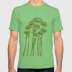 PAPERCUT FLOWER 2 Mens Fitted Tee Grass SMALL