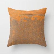 Iron And Rust Throw Pillow