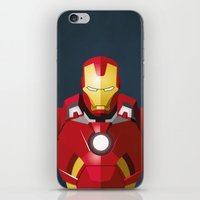 The Truth Is, I Am Iron Man   iPhone & iPod Skin