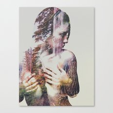 Wilderness Heart #3 Canvas Print