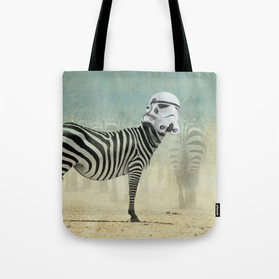 Trooper Stripes  _ Star Wars _ Zebra Tote Bag