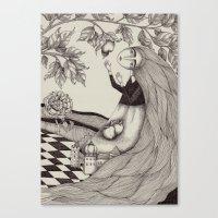 The Golden Apples (2) Canvas Print