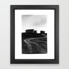 road 2 somewhere_2 Framed Art Print