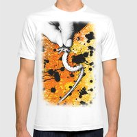 Two Headed Snake Mens Fitted Tee White SMALL