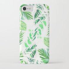 Leaf tropical pattern iPhone 7 Slim Case