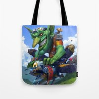 Goblin Rider Tote Bag