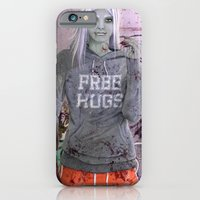 FREE HUGS iPhone 6 Slim Case