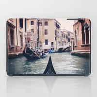 Venice By Gondola iPad Case