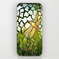 Fly High Dragonfly. iPhone & iPod Skin