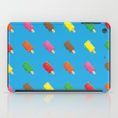 Cute Popsicle Cartoon Pattern iPad Case