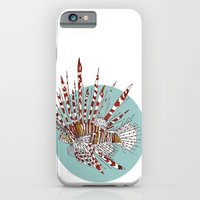 iPhone & iPod Case featuring Lionfish by Pat Butler