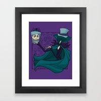 Hatbox Jack Framed Art Print