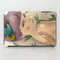 Paradise Bird iPad Case