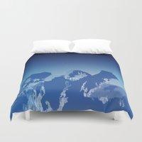 Blue Night Duvet Cover