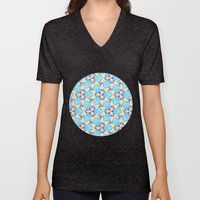 Triangle Kaleidoscope Pa… Unisex V-Neck
