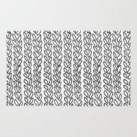 Knit Outline Zoom Rug
