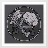 Imperial Walker AT-AT Baby Art Print