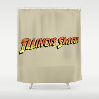 Illinois Smith Shower Curtain