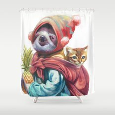 Traveling Friends Shower Curtain