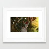 Mononoke Framed Art Print